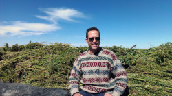 Jason Lauve Hemp Harvest